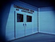 S.S. Tahitian Star Communications room