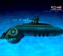 Phineus Phibes's submarine lair