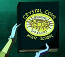 Crystal Cove High School yearbook