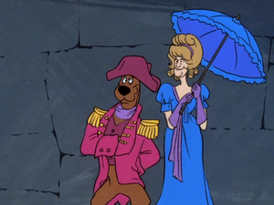 Scooby and Shaggy in 17th Century disguises