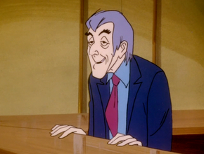 Desk clerk (Vampire Bats and Scaredy Cats)