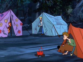 Campsite (Who's Afraid of the Big Bad Werewolf)