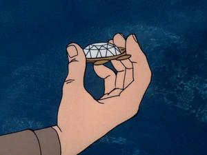 Diamond scarab