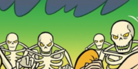 Giant skeletons (Two Makes It Wrong)