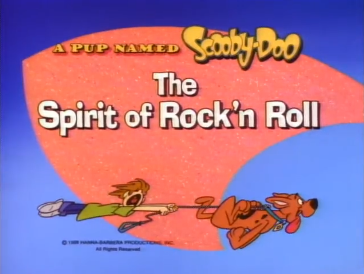 The Spirit of Rock'n Roll title card