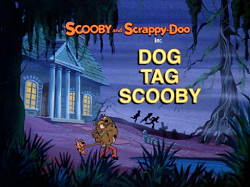 Dog Tag Scooby