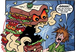 Shaggy and the Killer Sandwich