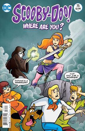 WAY 75 (DC Comics) cover