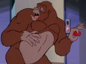 Gorilla (The No-Face Zombie Chase Case)