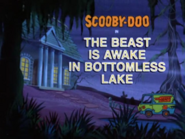 The Beast is Awake in Bottomless Lake title card