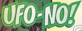 UFO-No! title card