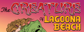 The Creature of Lagoona Beach title card