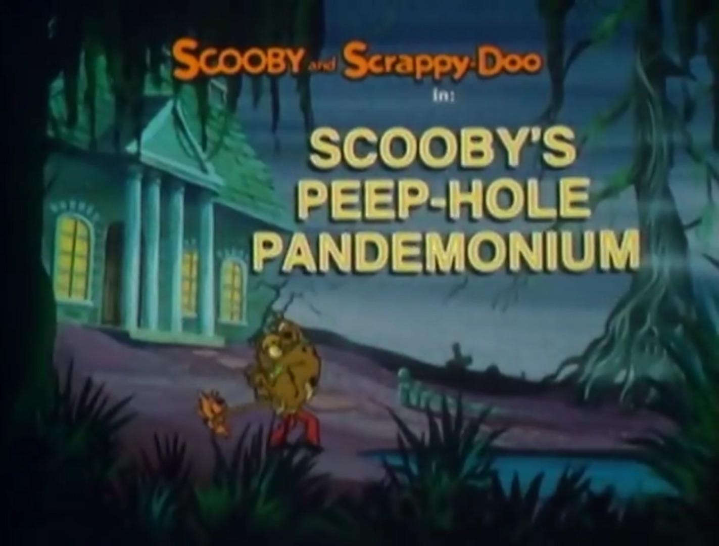 File:Scooby's Peep-Hole Pandemonium title card.jpg
