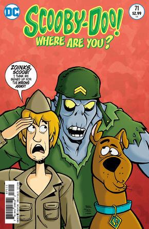 WAY 71 (DC Comics) cover