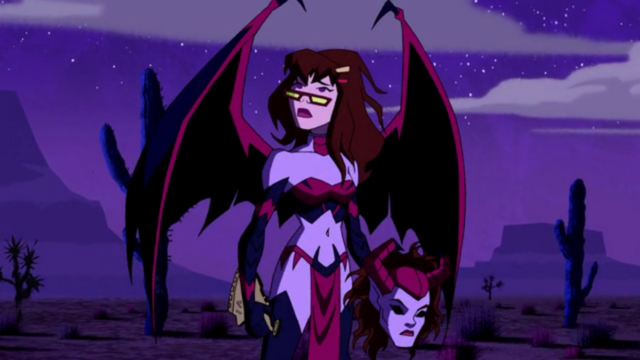 File:Dark Lilith unmasked as Hot Dog Water.png