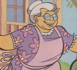 Fred Jones's grandmother