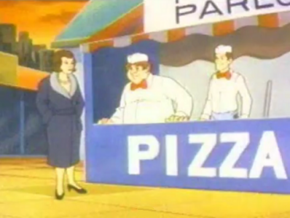 Pizza parlor (Mission Un-Doo-Able)