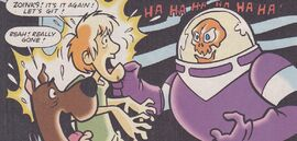 Scoob and Shag meet Spooky Space Kook (Archie)