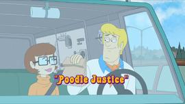 Poodle Justice episode title card