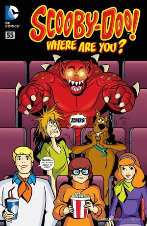 WAY 55 (DC Comics) front cover