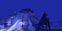 Ski jump gate (There's No Creature Like Snow Creature)