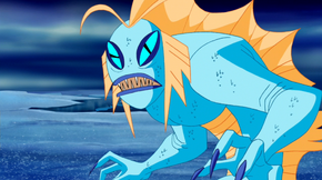 Fish creature (Uncle Scooby and Antarctica)