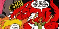 The Not So Reluctant Dragon!