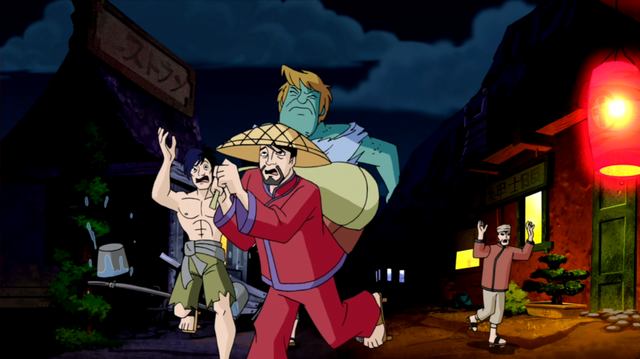 File:30 Foot Shaggy stands over a Tokyo village.png