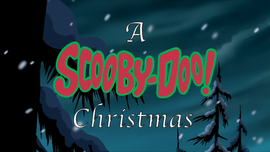 A Scooby-Doo! Christmas title card