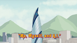 Me, Myself, and A.I. title card