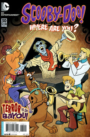 WAY 30 (DC Comics) front cover