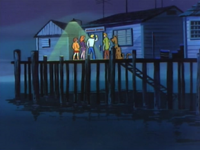 Harbor patrol office (Twenty Thousand Screams Under the Sea)