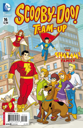 TU 16 (DC Comics) cover