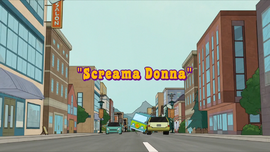 Screama Donna title card