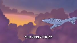3-D Struction title card