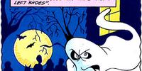 Left-shoe-stealing ghost