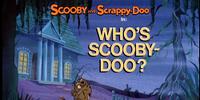 Who's Scooby-Doo?