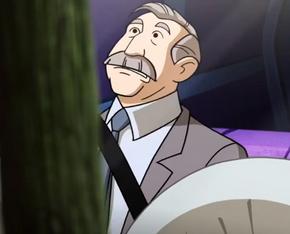 Driving examiner (Moon Monster Madness)