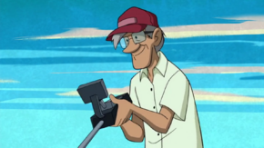 Sand digger (Scooby-Doo! and the Beach Beastie)