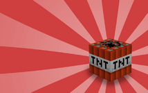 Minecraft tnt block by maxicube d33jmka a mine craft explosives worker-s900x563-246910