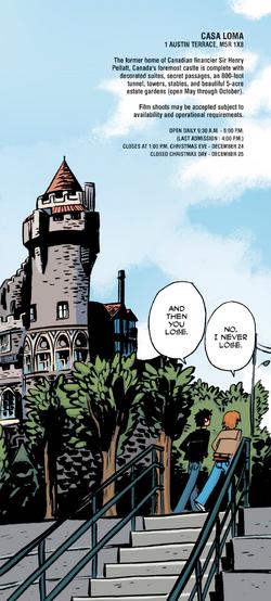 Casa loma comic
