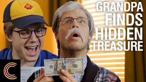 Grandpa Finds Hidden Treasure