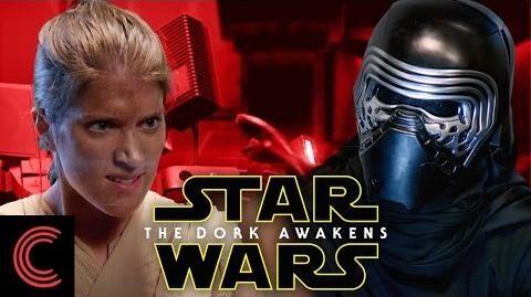 Star Wars- The Dork Awakens - Kylo Ren vs