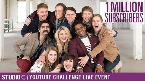 Live Event 1 Million Subscribers - YouTube Challenge