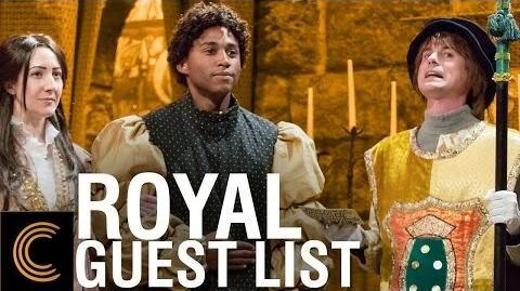 The Guest List of His Royal Majesty