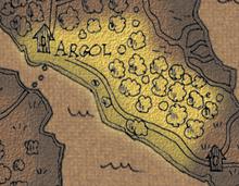 Argol woods map