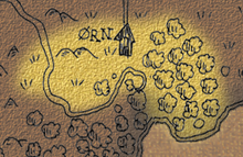 Littoral of orn map