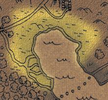 Manar lowlands map
