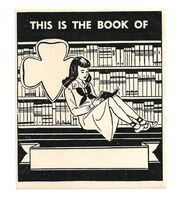 Girl Scout Book Plate