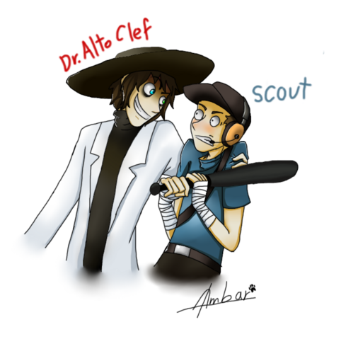 File:Dr alto clef and scout by dragonperro96-d6rhibh.png